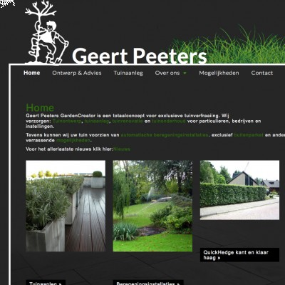 Geert Peeters - Gardencreator