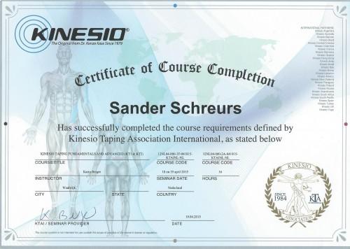 Certificaat basiscursus