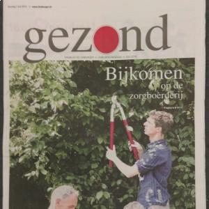 Bijlage ''Gezond'' in de Limburger